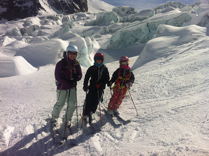 Skiing the Vallee Blanche with Mountain Adventure Guides, Chamonix