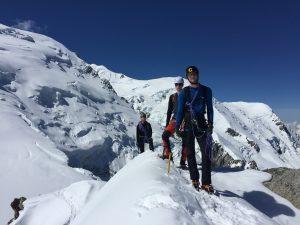 Summer Alpine Training, Aiguilles du Midi, Chamonix Mont Blanc