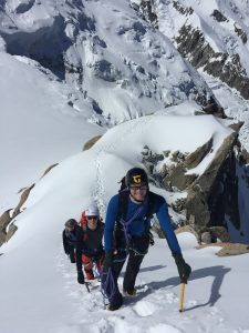 Summer Alpine Training, Aiguilles du Midi, Arete Laurence PB